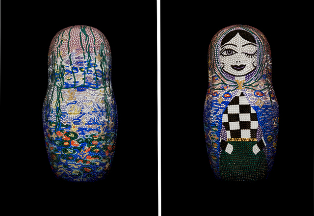 ", 'Matryoshka Large ""UNDEFEATED"" feat. Monet for Louis Vuitton,' 2019, Galerie de Bellefeuille"