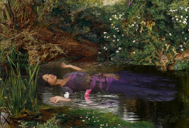 , 'Ode to Millais' Ophelia,' 2013, Jonathan Ferrara Gallery