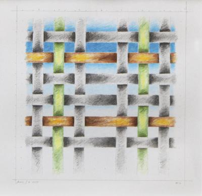 , '#12 (Study for Weaving #7),' 2010, Louis Stern Fine Arts