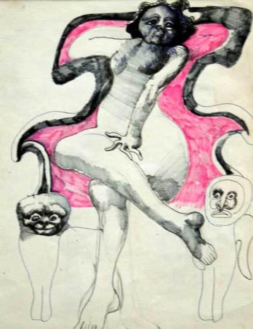 , 'Woman on a throne,' , Gallery Katarzyna Napiorkowska   Warsaw & Brussels