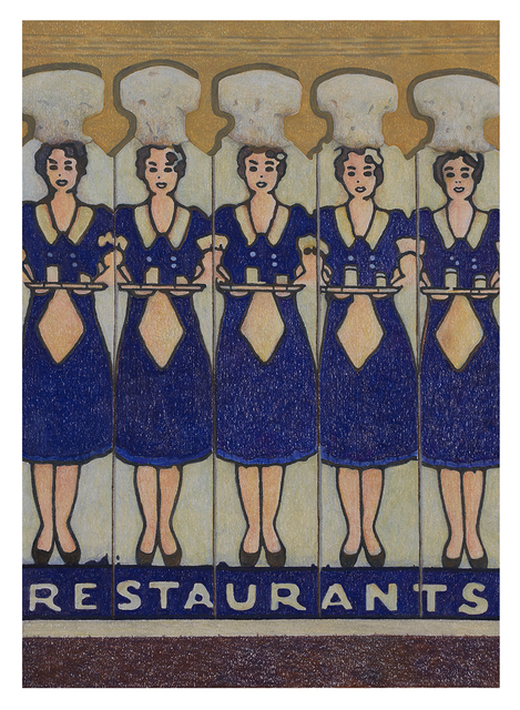 , 'Waitresses ,' 2018, Sims Reed Gallery