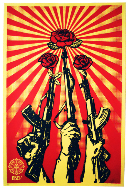 , 'Guns and Roses,' 2007, EHC Fine Art