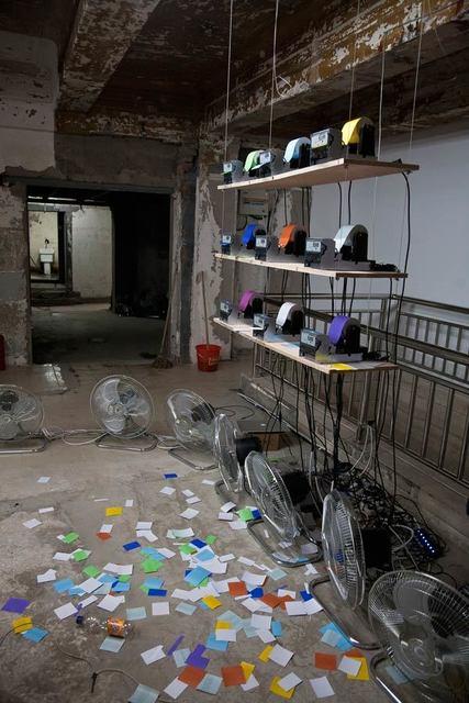 , 'Ambiente estéreo realidad 4.2,' 2012, Revolver Galería
