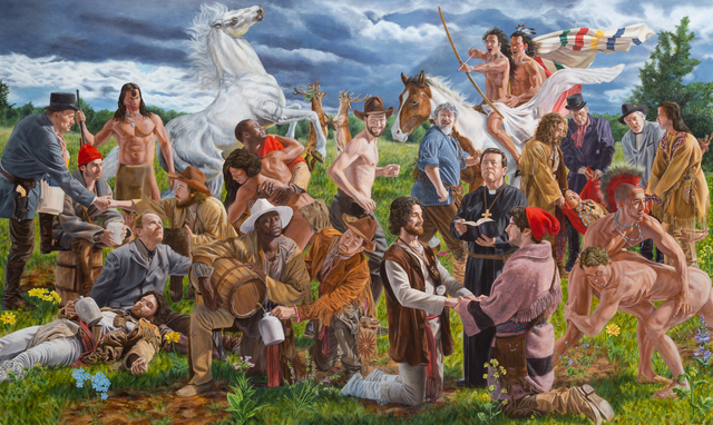 , 'Wedding at Sodom,' 2017, Peters Projects