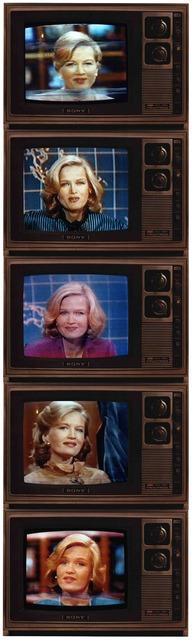 , 'Untitled Newswoman, Diane Sawyer,' 1984, Rhona Hoffman Gallery