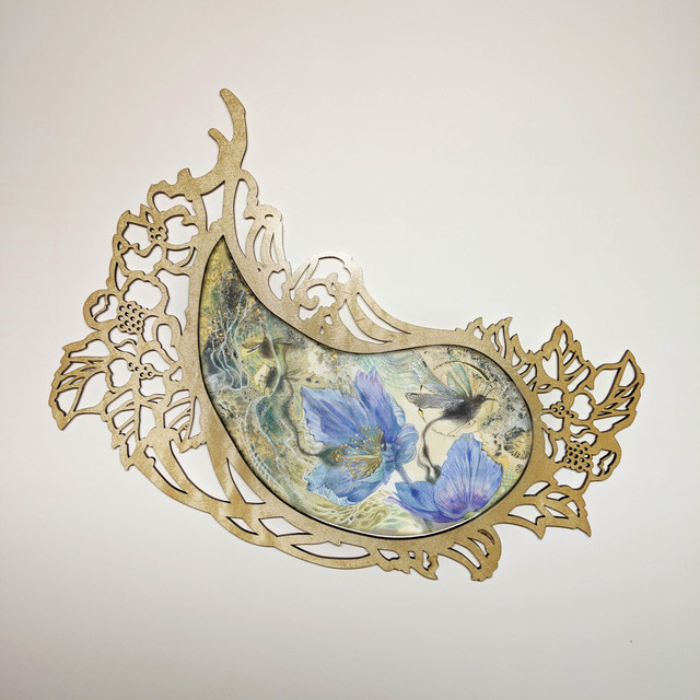 , 'Flourish  I: Blue,' , Haven Gallery