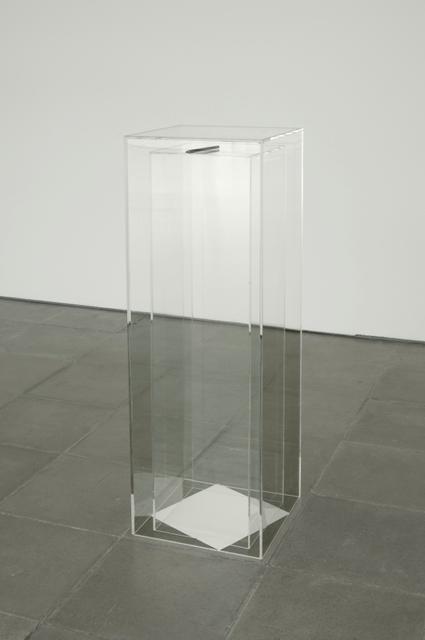 , 'Niente e subito,' 2006, Galleria Massimo Minini