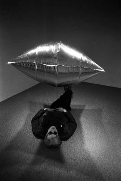 , 'Andy Warhol Under the Silver Cloud Ballon, Castelli Gallery, New York,' 1965, Lumiere Brothers Gallery