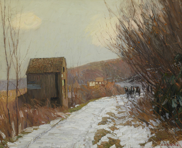, 'Winter Road,' , Somerville Manning Gallery