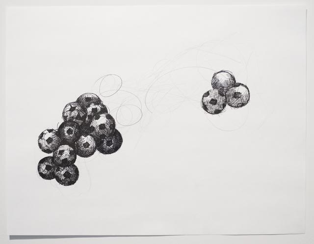 , 'Silent Drawing (Obverse & Reverse),' 2010, Josée Bienvenu