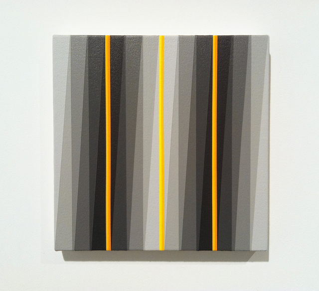 Gabriele Evertz, 'Six Grays Plus Y', 2009, Painting, Acrylic on canvas over wood, Minus Space