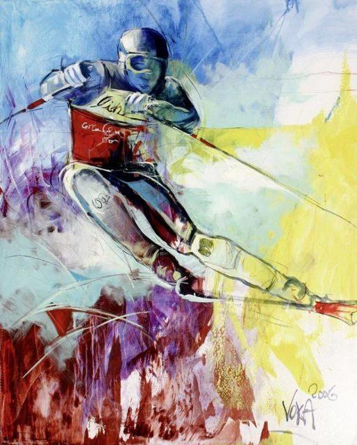 Voka, 'The Race', 2017, ArtCatto