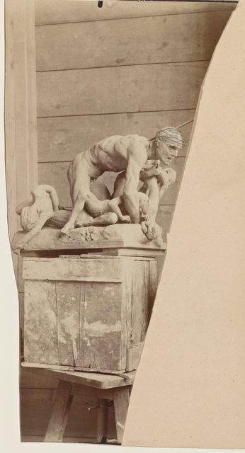 , 'Ugolin en terre (Ugolin in clay),' 1880-1881, Musée Rodin
