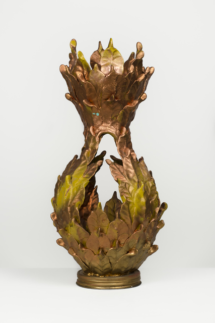 , 'Untitled (Copper vessel with jar lid base),' , Fleisher/Ollman