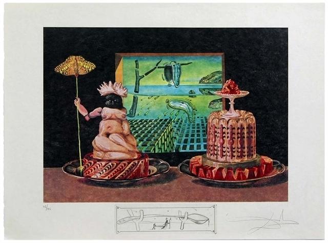 ", 'Les ""Je mange GALA"",' 1971, Altmans Gallery"