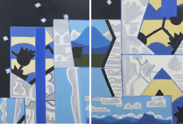 , 'Madrid, Night Studio #2 and #3,' 2004-06, David Richard Gallery
