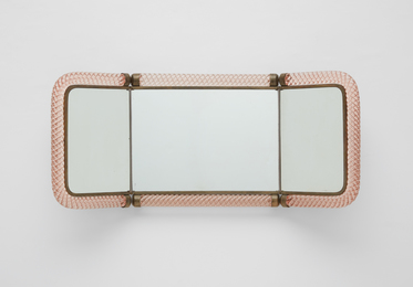 Folding mirror, model no. 21