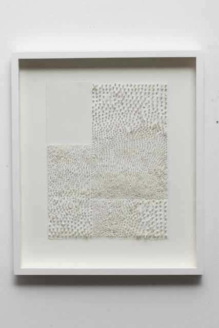 Lars Christensen, 'White Structure / Manual #6', 2014, Anne Mosseri-Marlio Galerie