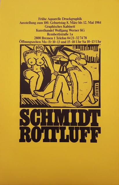 Karl Schmidt-Rottluff, 'Schmidt-Rottluff at Kunsthandel Wolfgang Werner KG', 1984, Graves International Art