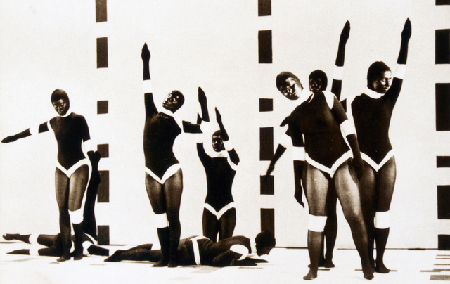 , 'Dance Performance during TV recording TV Caltura de Sao Paolo, Brasil, M3x3,' 1973, Anita Beckers