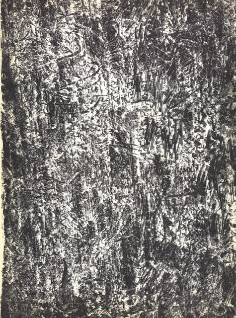 Francois Fiedler, 'Peinture', 1960, Ephemera or Merchandise, Stone Lithograph, ArtWise