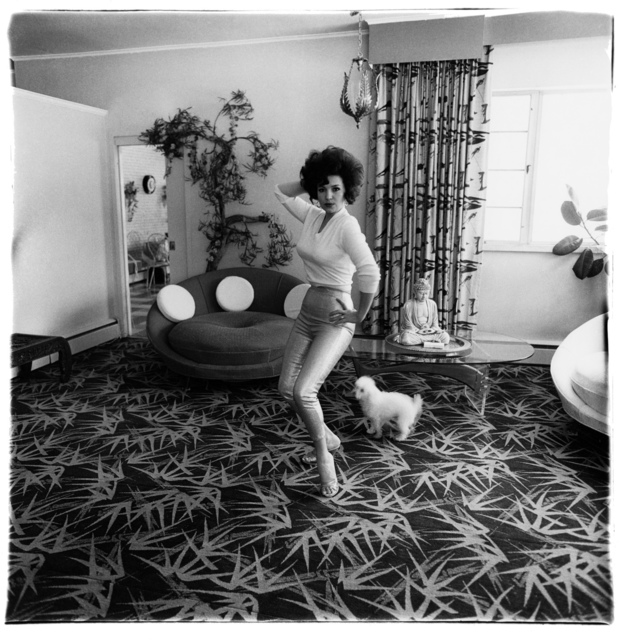 , 'Blaze Starr in her living room, Baltimore, Md.,' 1964 / printed by Neil Selkirk, Fraenkel Gallery