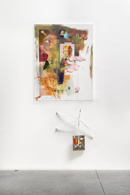 Matthieu Ronsse, 'Glamourous shoes, bitter ties', 2016, Painting, Oil on canvas, Almine Rech