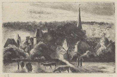 Église et Ferme d'Eragny