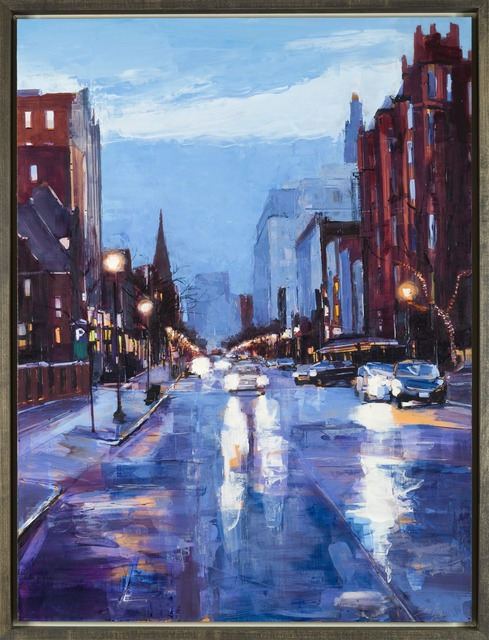 , 'Winter Morning on Newbury Street,' 2014, Childs Gallery
