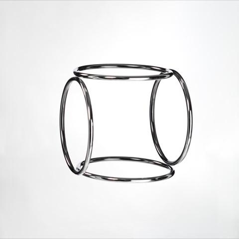 , 'Cerchi virtuali,' 1976, Dan Galeria