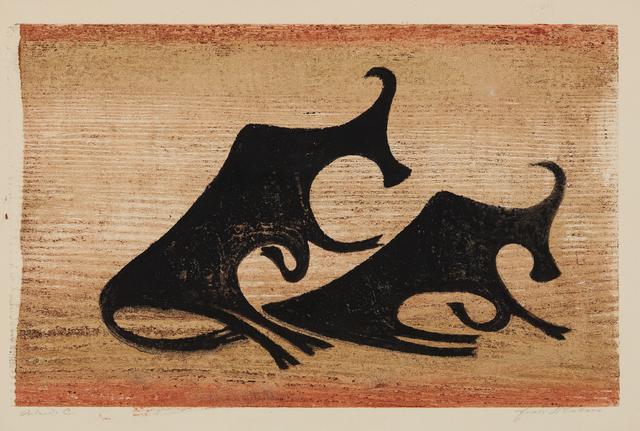 Ewald Mataré, 'Kühe im Nebel (Cows in the Mist)', 1952, Phillips