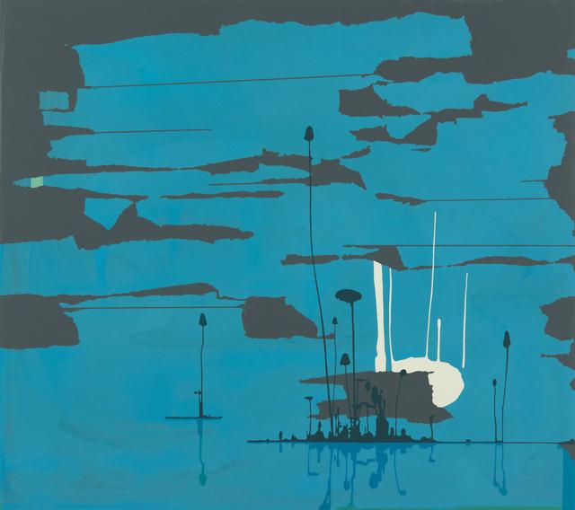 , 'Elemental (Blue),' 2018, Eleanor Harwood Gallery