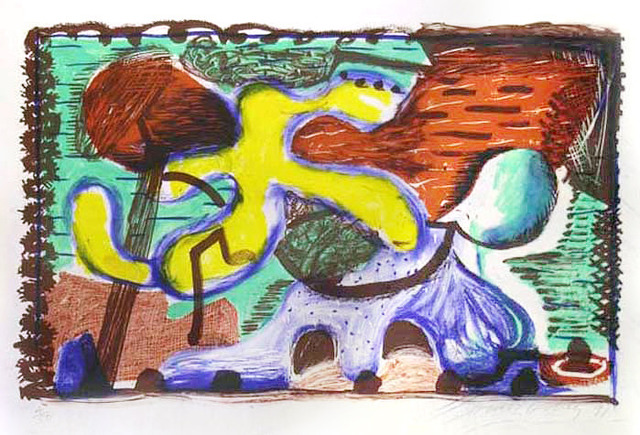 David Hockney, 'The New and the Old and the New', 1991, Nikola Rukaj Gallery