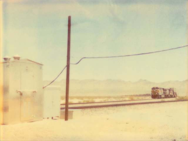 Stefanie Schneider, 'Approaching Train', 2003, Photography, Analog C-Print, hand-printed by the artist based on a Polaroid, not mounted, Instantdreams