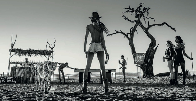 David Yarrow, 'The Good, The Bad And The Ass', Art Angels