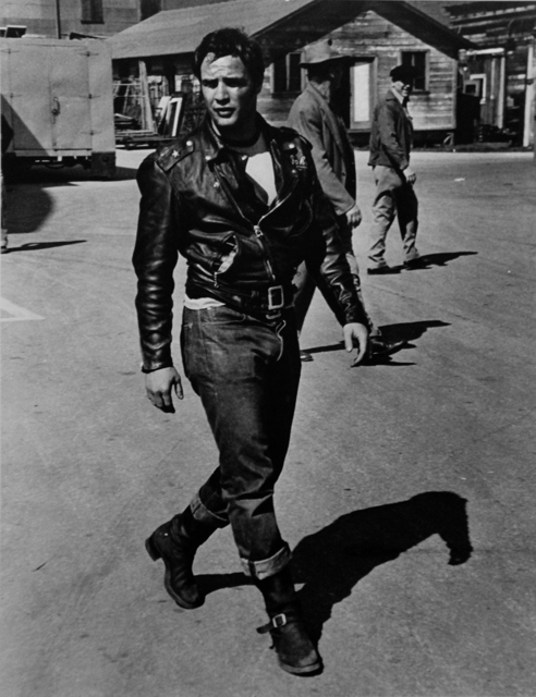 "Phil Stern, 'Marlon Brando (from ""The Wild One"")', ca. 1950, Photography, ClampArt"