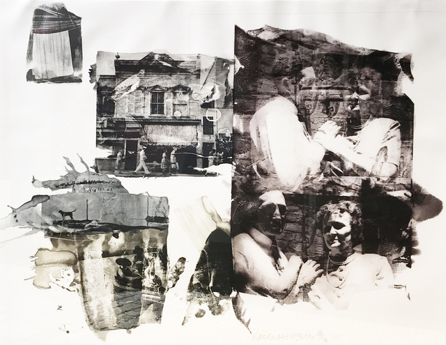 Robert Rauschenberg, 'Big and Little Bullys', 1999, Print, Intaglio in five colors with etching, Eckert Fine Art