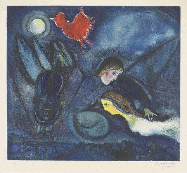 Marc Chagall, 'Aleko', circa 1955, Christie's