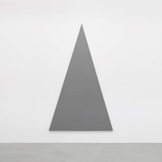 , 'Triangle Painting,' 2014, A arte Invernizzi