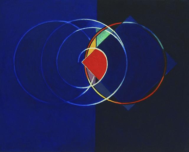 CARLOS GONZÁLEZ, 'Elipse en Azul', 2013, Enlace Arte Contemporáneo