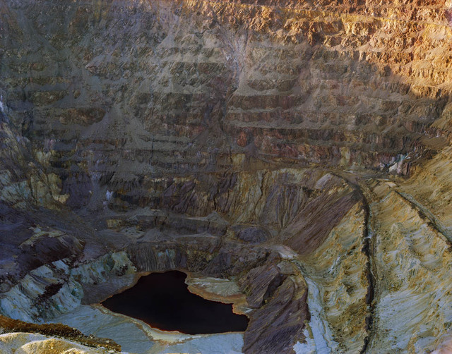 , 'Pool, Former Copper and Turquoise Mine, Lavender Pit Bisbee, Arizona,' 2012, Benrubi Gallery