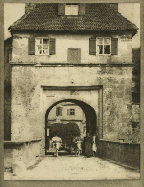 Alvin Langdon Coburn, 'The Gateway, Dinkelsbuhl', Sworders