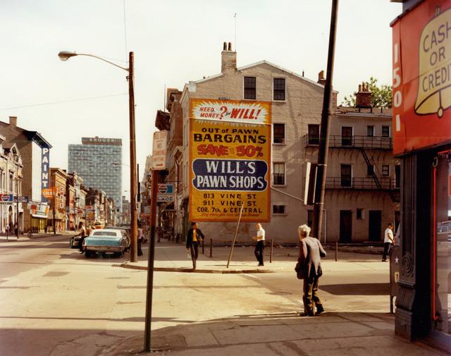 , 'West 15th Street and Vine Street, Cincinnati, Ohio, May 15, 1974,' 1974, Edwynn Houk Gallery