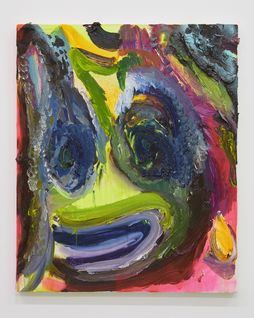 , 'Self portrait, funny smile.,' 2017, Tomio Koyama Gallery