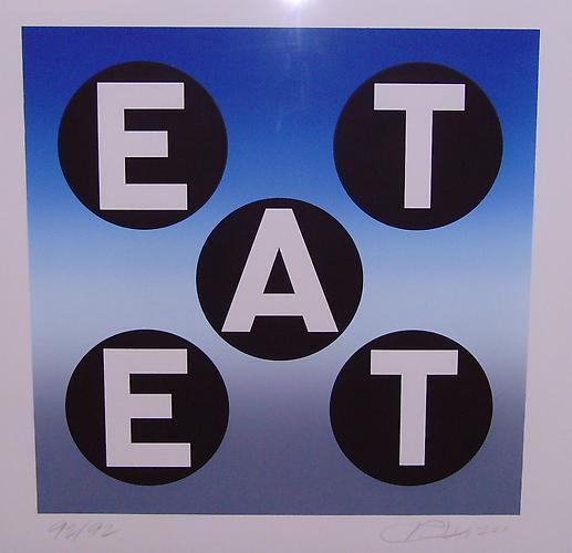 Robert Indiana, 'EAT', 2011, Vertu Fine Art