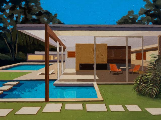Andy Burgess, 'Singleton House II', 2016, Cynthia Corbett Gallery