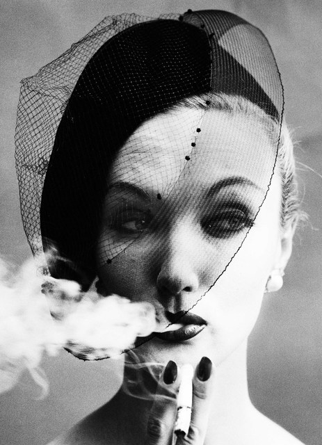 , 'Smoke & Veil (Vogue), Paris, France,' 1958, Robert Klein Gallery