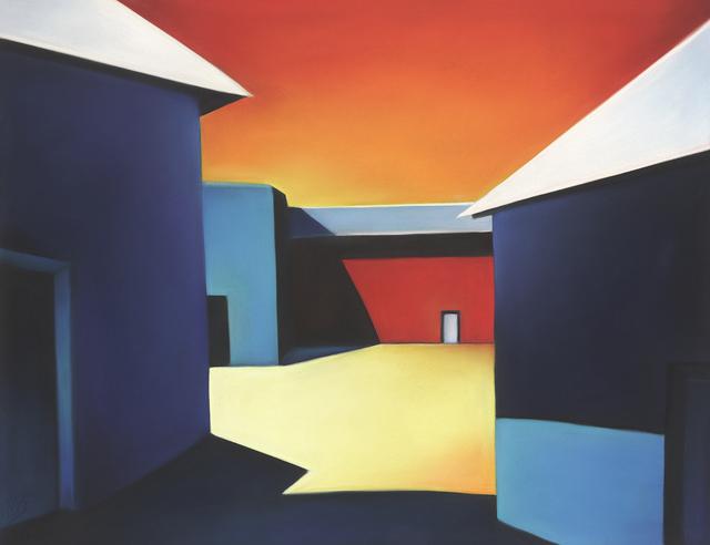 , 'Sunlit Alley of Color 19-13,' 2019, Ventana Fine Art