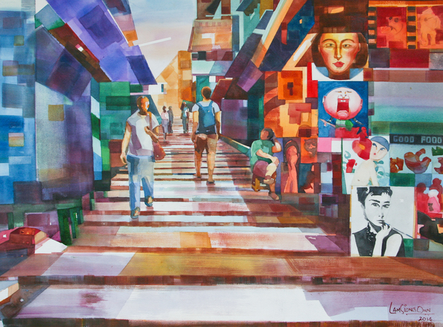 , '#10 Pottinger Street,' 2014, Affinity ART