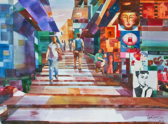 , '#10 Pottinger Street,' 2014, Affinity ART